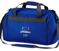 Personalised I LOVE GYMNASTICS Bag Male Boys Mini Holdall  BG200